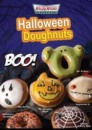 Post image for Halloween Freebie 2012: Krispy Kreme Doughnut