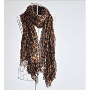 Post image for Leopard Print Scarf $4.98 Shipped