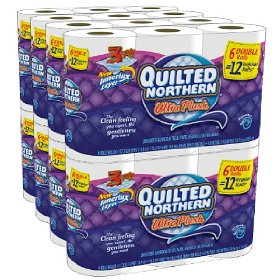 Post image for Quilted Northern Toilet Paper $.24 A Single Roll Delivered
