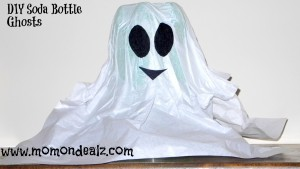 Post image for Fun Kid's Activity: Soda Bottle Ghost