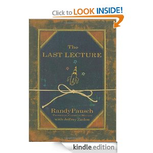 "Post image for ""The Last Lecture"" by Randy Pausch $1.99"
