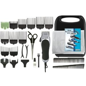 Post image for Wahl 79524-2501 Chrome Pro 24-Piece Haircut Kit $26.97
