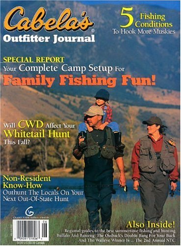 Post image for Cabelas Outfitter Journal Magazine Sale – Today Only
