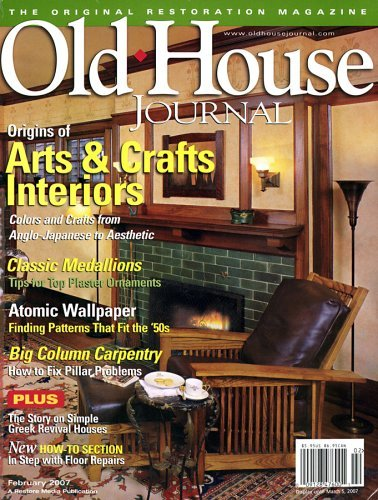 Post image for Old House Journal Magazine Sale