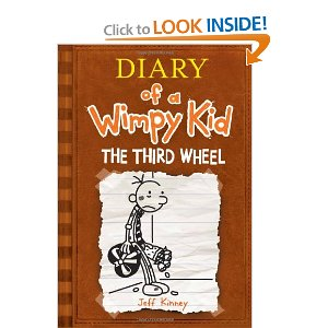 Post image for The Third Wheel (Diary of a Wimpy Kid, Book 7) $4.99 Hardcover