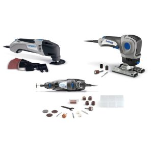 Post image for Dremel CKDR-01 Three-Tool Combo Kit $96.99