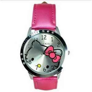 Post image for Hello Kitty Large Face Quartz Watch $7.97 Shipped