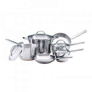 Post image for KitchenAid Gourmet Distinctions Stainless Steel 10-Piece Cookware Set $99.99