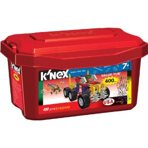 Post image for Knex Value Tub 400 pieces $10.97