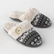 Post image for Dearfoams Knit Clog Slippers