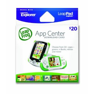 Post image for $14.99 For $20 LeapFrog App Center Download Card (works with LeapPad & Leapster Explorer)