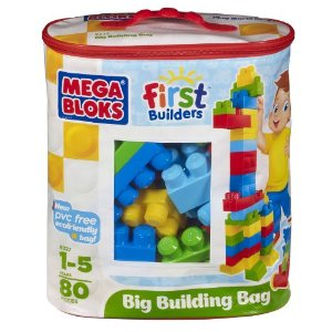Post image for Megabloks 80 Pc Large Classic Bag $15.00