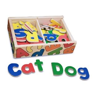 Post image for Melissa and Doug Magnetic Wooden Alphabet $8.96