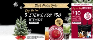 Post image for The Body Shop- Black Friday Sales Now!