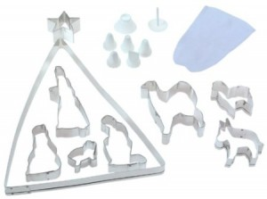 Post image for Eighteen Piece Nativity Cookie Cutter Bake Set $8.64