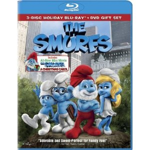 Post image for The Smurfs / The Smurfs: Christmas Carol (Three-Disc Combo) $16.74