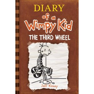 "Post image for Pre-Order ""The Third Wheel (Diary of a Wimpy Kid, Book 7)"" For $7.75"