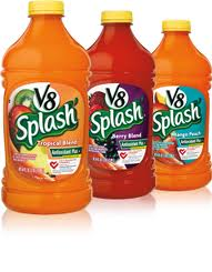 Post image for $1/2 V8 Splash (Harris Teeter Deal)
