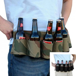 Post image for 6 Pack Holster Beer & Soda Can Party Belt $6.98 Shipped