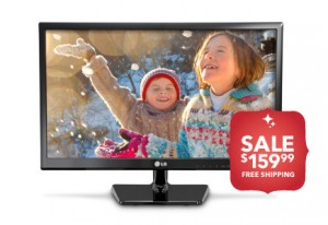 Post image for LG 24″ Class LED 720p HDTV $159.99