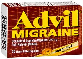 Post image for CVS: Free Advil Migraine