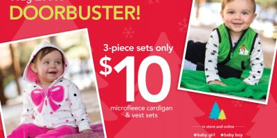 carters fleece doorbuster