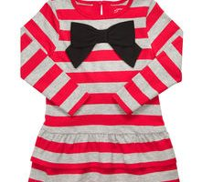 carters long sleeved holiday dress