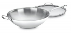 Post image for Cuisinart Chef's Classic Stainless 14-Inch Stir-Fry Pan with Glass Cover $27.95 Shipped