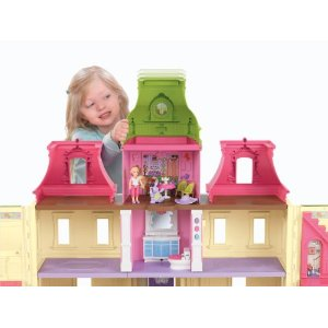 Post image for Fisher-Price Loving Family Dream Dollhouse Family $49.99