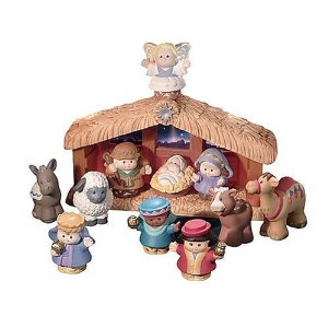 Post image for Toys R Us: Fisher Price Little People Nativity Set $26.58 Shipped (8 Hours Only)