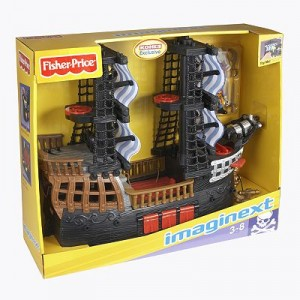 Post image for Kohls.com- Fisher Price Imaginext Pirate Ship $17.59
