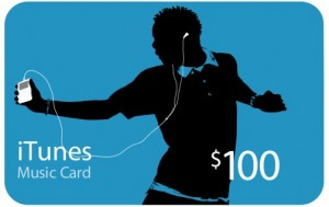 Post image for GONE: iTunes Gift Card- $100 For $85