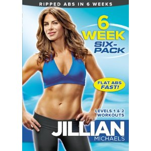 Post image for Jillian Michaels: 6 Week Six-Pack DVD $5.87