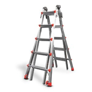 Post image for GONE: Little Giant 300-Pound Duty Rating Multi-Use Ladder, 22-Foot $199.00 (Reg. $509)