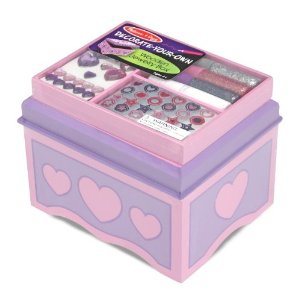 Post image for Melissa & Doug Jewelry Box- Decorate It Yourself $6.43