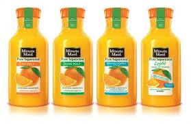 Post image for New Coupon: $0.55/1 Minute Maid Pure Squeezed bottle
