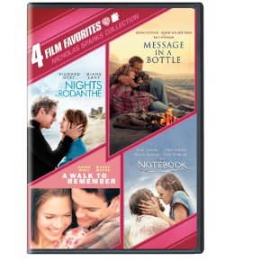 Post image for 4 Film Favorites: Nicholas Sparks Romances DVD $9.94