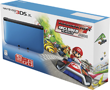 Post image for Nintendo 3DS XL with Mario Kart 7 Bundle (Blue/Black) $179.99