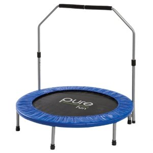 Post image for Pure Fun 9005MTH 40-Inch Mini Trampoline with Handrail $39.99 Shipped