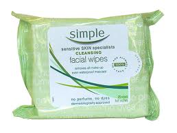 simple skin cleansing wipes