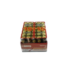 Post image for Lowes: Utilitech 30-Pack AA Alkaline Batteries $4 w/ Free Pick Up!
