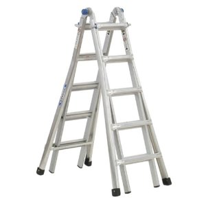Post image for Amazon Lightning Deal: Werner MT-22 300-Pound Duty Rating Telescoping Multi-Ladder, 22-Foot
