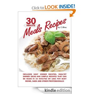 Post image for Free Book Download: 30 Minute Meals Recipes
