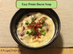 Post image for Cooking For One Recipes: Potato Bacon Soup