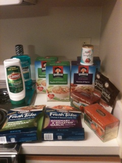 Post image for Harris Teeter Trip 1/3/12 – Saved 75% (Ish)