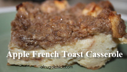 Post image for Apple French Toast Casserole Recipe