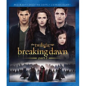 Post image for The Twilight Saga: Breaking Dawn Part 2 [DVD + Digital Copy + UltraViolet] $14.96