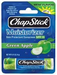 Post image for Walmart and Target- Possible FREE Green Apple Chapstick