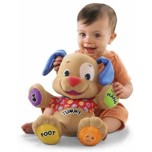 Post image for Amazon: Fisher-Price Laugh & Learn Love to Play Puppy $15.00