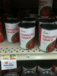 food lion tomato sauce big